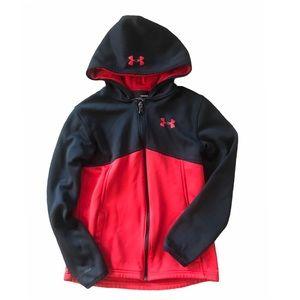 Under Armour little boys hoodie zip up size L